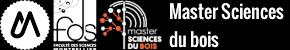 Master sciences du bois Logo